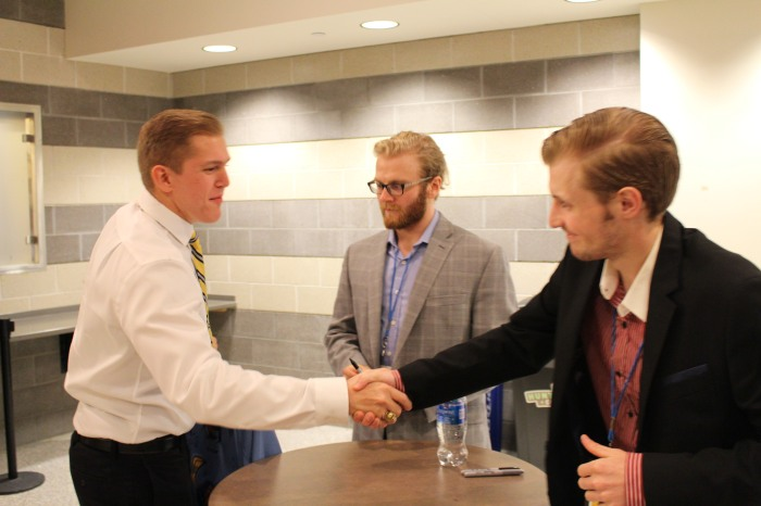 Gedert and I shake hands.JPG